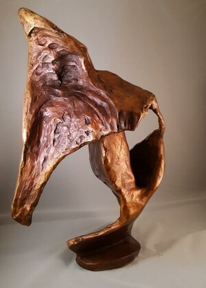 Bronze sculpture, 50*23*30