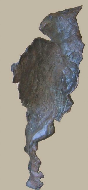 Bronze sculpture, 108cm*33cm*33cm